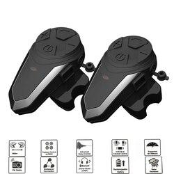 1200M BTS3 Bluetooth Helmet Intercom BT-S3 IPX7 Waterproof BT 3.0 with FM Headset Motorcycle Bluetooth Helmet Intercom 3 Riders
