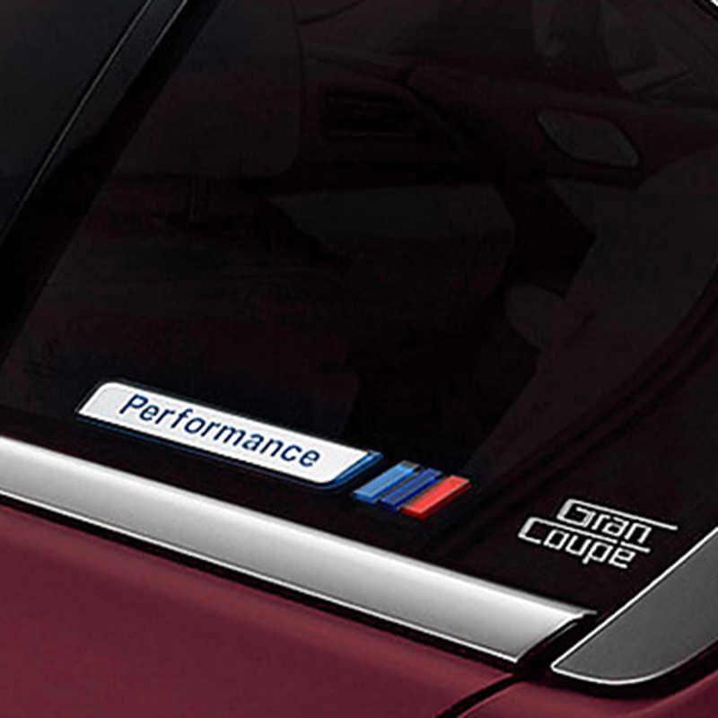 Mới 2 cái/bộ M Điện Hiệu Suất Fender Xe Ô Tô-Tạo Kiểu Decal Quốc Huy Huy Hiệu cho XE BMW M 1 3 4 5 6 7 E Z X Xe Ô Tô Phụ Kiện