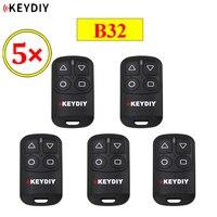 5 PÇS/LOTE KEYDIY B32 4 Botões Geral Remoto Da Porta Da Garagem para KD900 URG200 KD-X2/KD MINI Generater Remoto KD B32