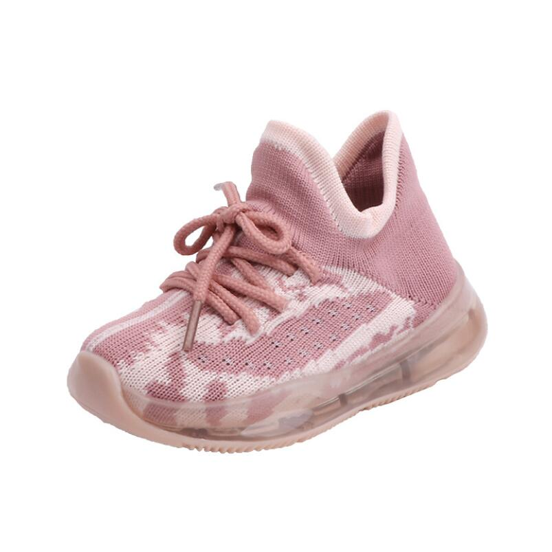 LED Mesh Breathable Sport Run Sneakers 6