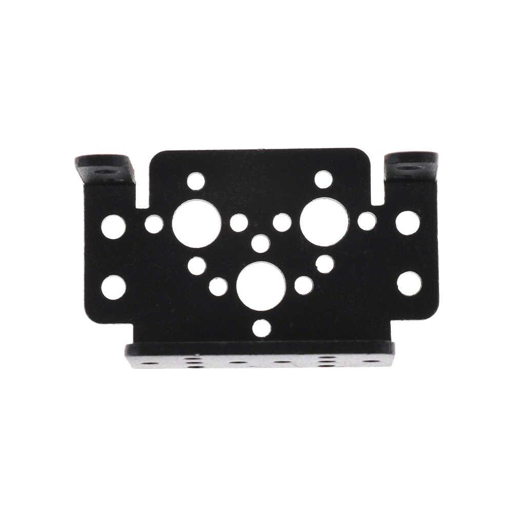 1Pcs Aluminium Multifungsi Servo Bracket untuk MG995 MG996r Dukungan Universal Robot Braket Gigi Kemudi