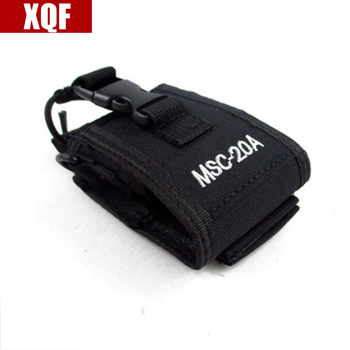 XQF MSC-20A Multi-function Radio Case Holder for Baofeng UV 5R 5RA 5RB 5RC 5RD 5RE+ 5RA+Two Way Radio