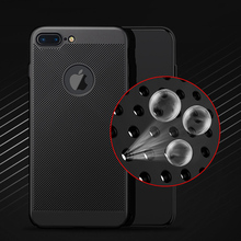 Ultra Slim Hollow Heat Dissipation Phone Case For iPhone XS MAX XR X 6 6s 7 8 Plus Samsung S9 S8 Hard PC Cases
