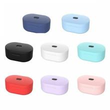 For Xiaomi Redmi Airdots Tws Air Dots Earbuds Eirdots Case Protective Cover Soft Coque Etui for mi airdots In ear Carcasa Fundas