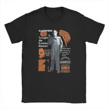 Michael Myers Halloween Mask And Drips T Shirt Scary Movie Horror Man's T Shirts Cotton Short Sleeved T-Shirts High Quality Tops halloween horror shirt michael myers premium graphic t shirt s 5xl