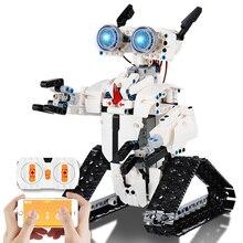 467 PCS High-Tech APP Remote Control Robot Building Blocks RC Intelligent Programing Creative Educational Bricks Kids Toys Gifts