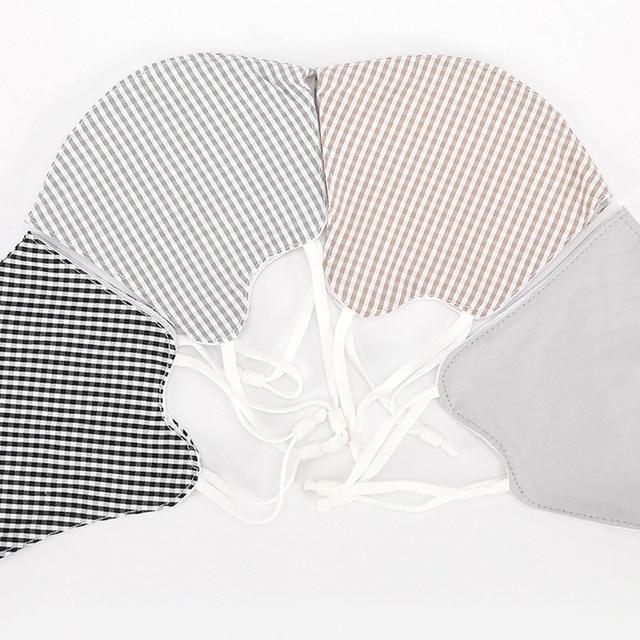1PC Cotton Women Anti Haze Anti-dust Mask PM2.5 Washable Mouth Mask  Windproof Face Muffle Bacteria Flu Fabric Cloth Respirator 5