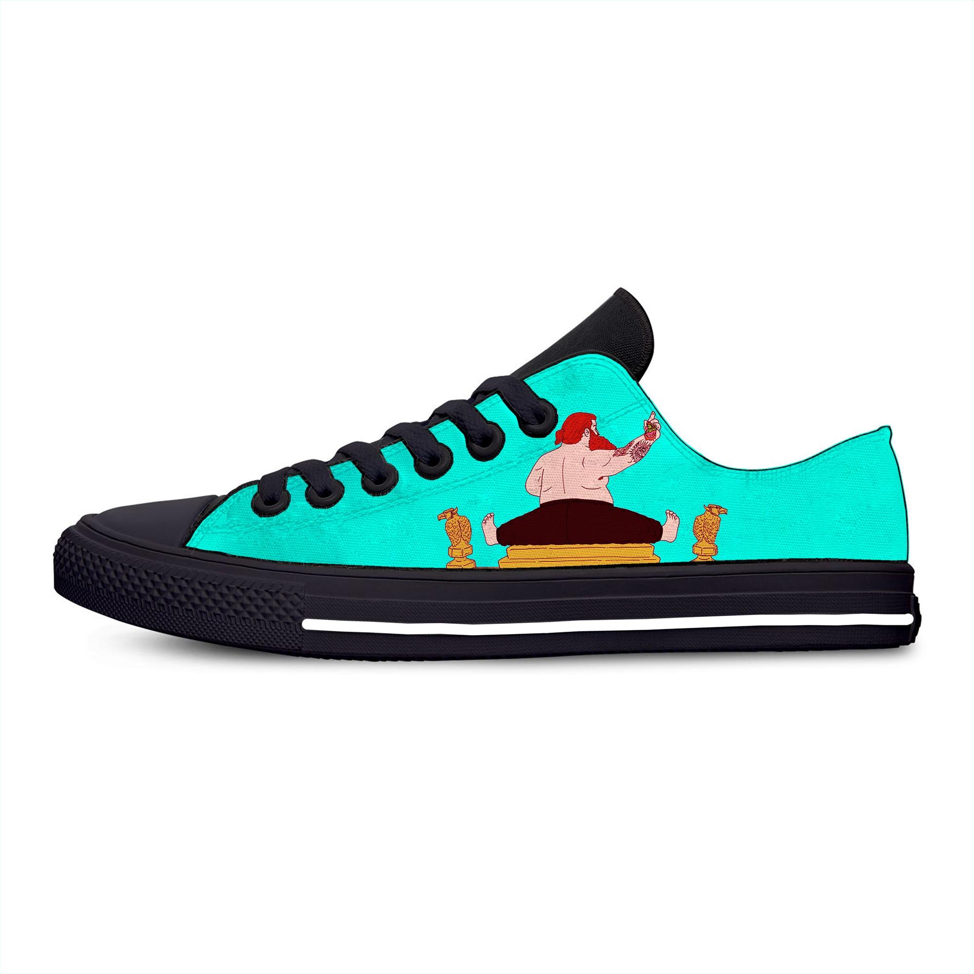 Хип-хоп рэпер экшен Бронсон музыка Горячая крутая модная повседневная парусиновая обувь дышащие легкие кроссовки с 3D принтом для мужчин и ж...