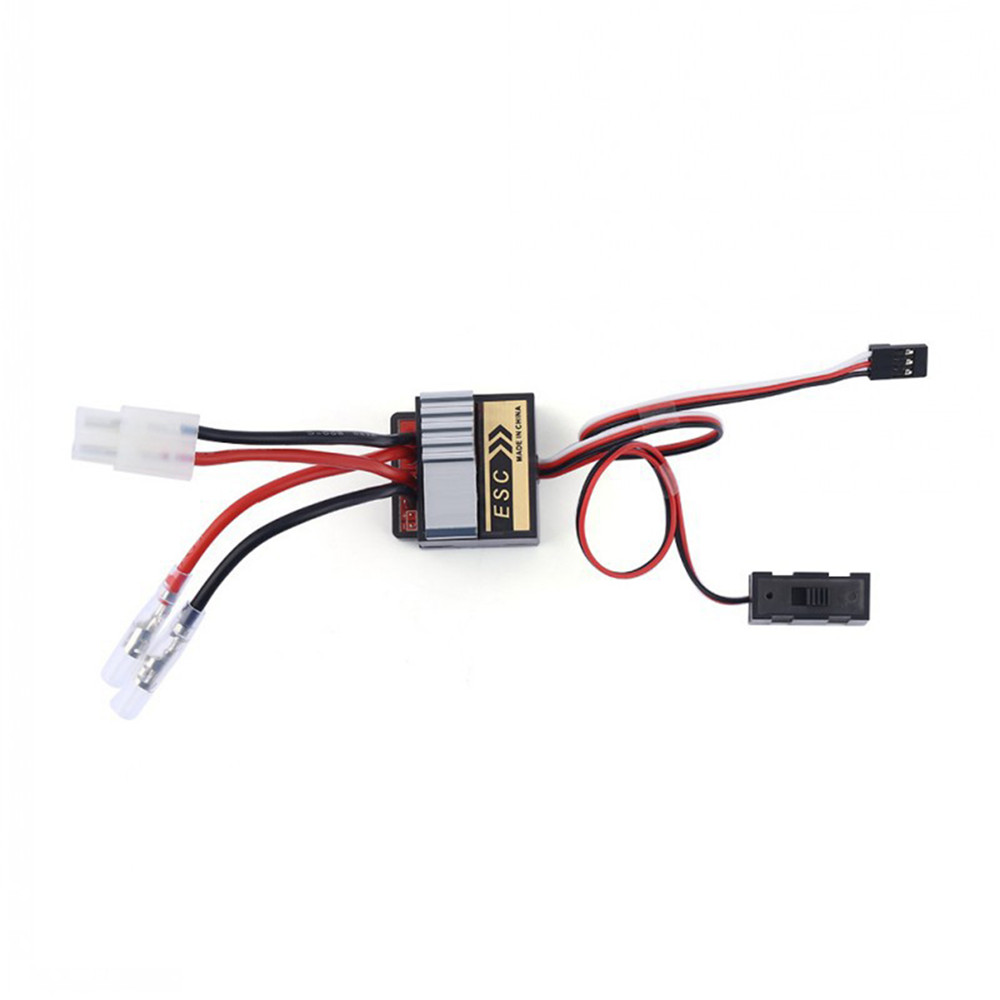 Bidirectional Two-way Brushed ESC Speed Controller With Brakes 320A 4.8-8.4V For 1/8 1/10 1/16 RC Car Truck Boat Accessories