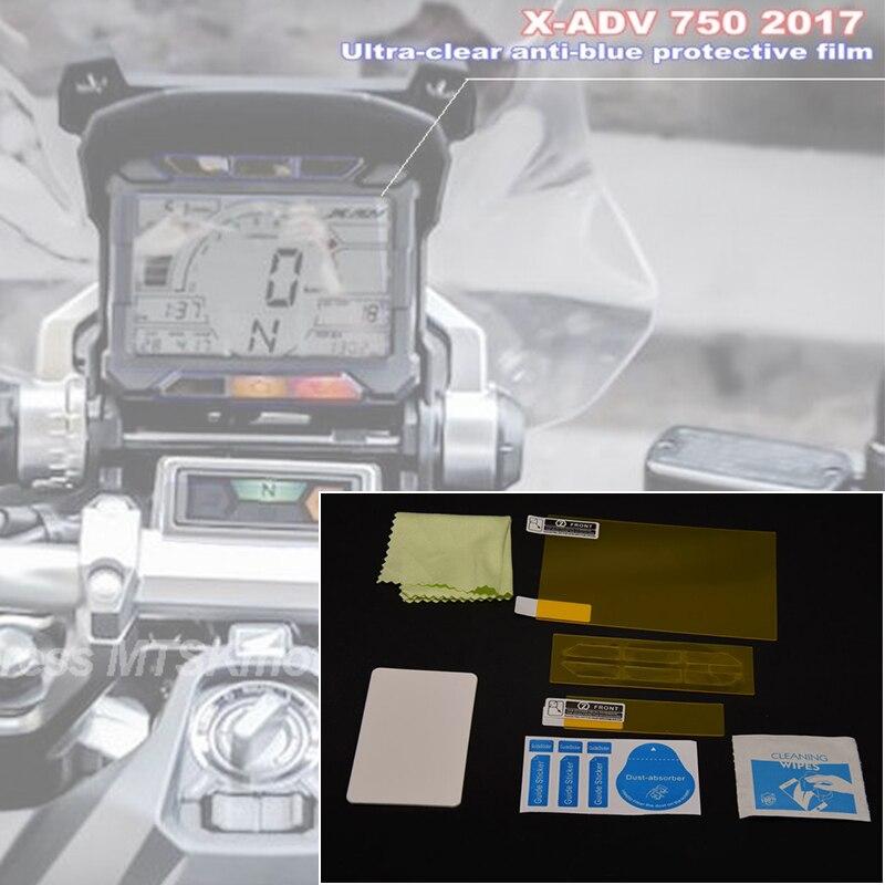 Película protetora de instrumentos para honda, tela de proteção contra arranhões para adv xadv X-ADV 2017 2018 honda 2019 X-ADV 2017-