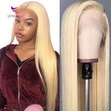 Peruca lace de cabelo humano 613 para mulheres negras., peruca 150% lisa de cabelo humano sem cola, brasileira, remy. 13x1.