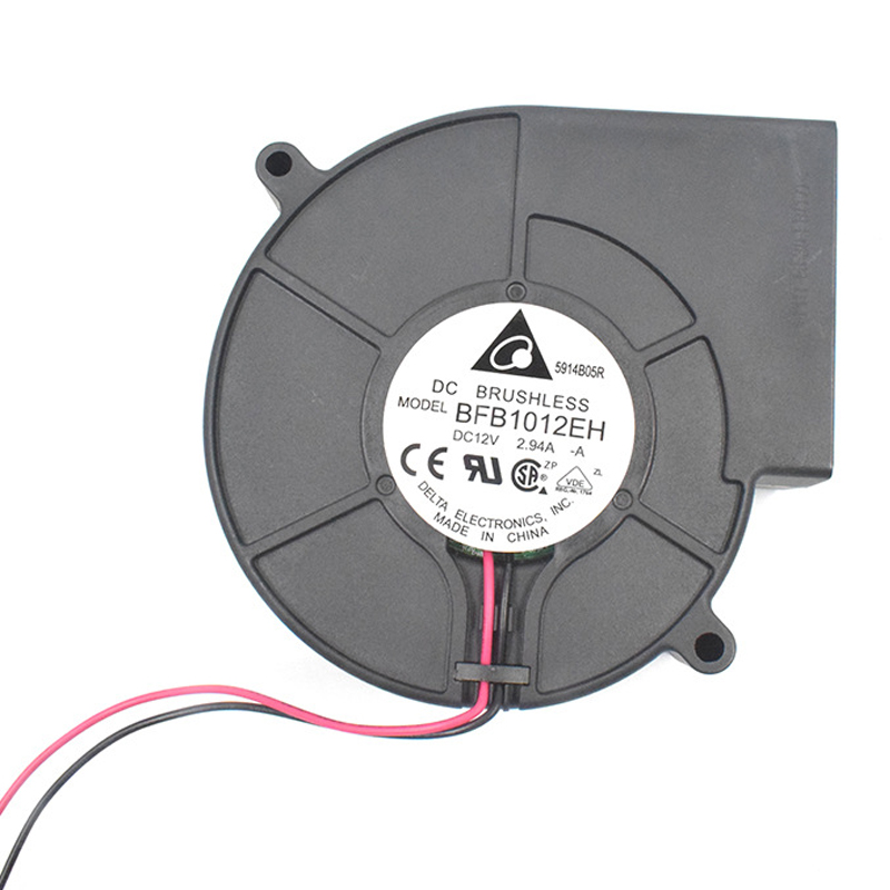 BFB1012EH <font><b>9733</b></font> 9.7cm DC <font><b>12V</b></font> 2.94A PWM <font><b>blower</b></font> 1U 2U server dedicated turbo cooling <font><b>fan</b></font> image