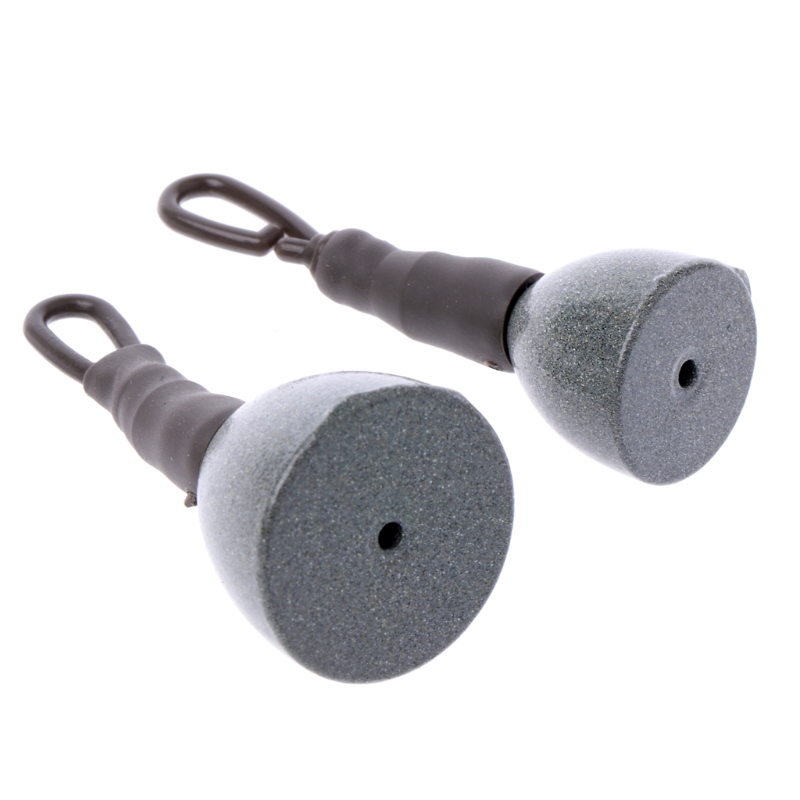 5pcs Carp Fishing Back Lead Clip Sinkers 15g 30g Back Lead Clip Weights UKHGji