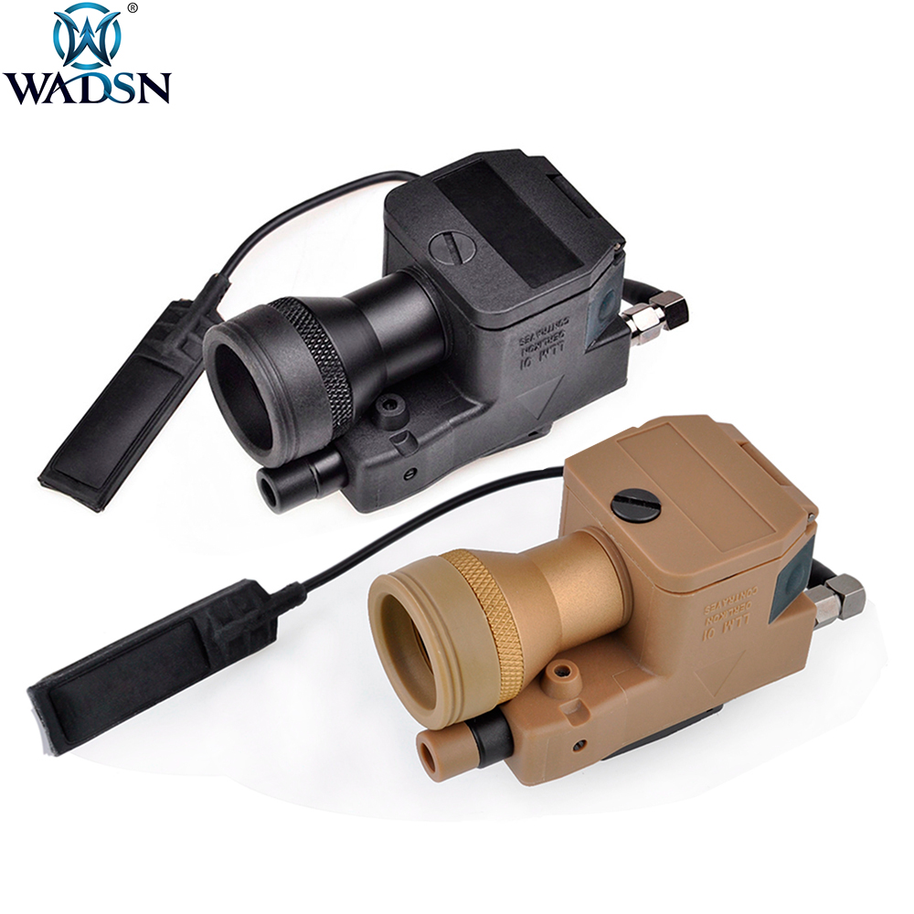 WADSN Airsoft LLM01 New Version Weapon Flashlight Softair Fully Functional Led Laser IR Infrared Military Led