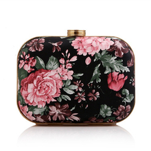 Banquet Bag Women's Evening Party Clutch Fashion Literary Women Retro Floral Wedding Accessory Handbag Gold Purse 20