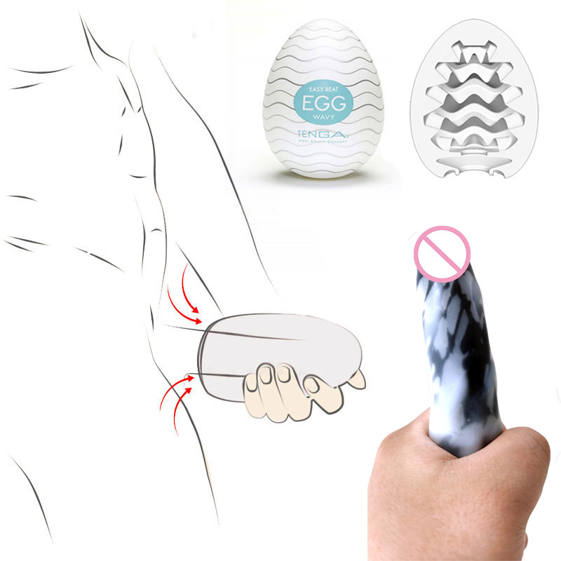 Tenga Eggs Male <font><b>Dildo</b></font> Masturbator Egg <font><b>Adult</b></font> Vagina Real Pussy Erotic Oral <font><b>Sex</b></font> <font><b>Toys</b></font> <font><b>For</b></font> Man Masturbation Massager Pocket Pussy image