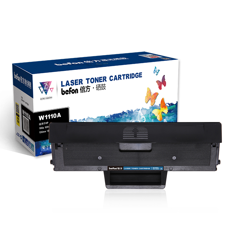 Befon Refilled 110A Toner Cartridge Compatible For HP W1110A  106A W1106A  For HP Laser 107A 107R 107W MFP 135A 135R 135W 137FNW