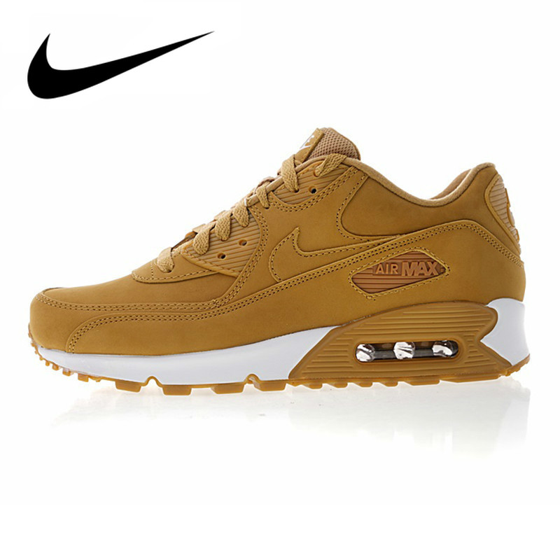 Original Authentic Nike Air Max 90 Essential Men's Running Shoes Sport Outdoor Sneakers Athletic Designer Footwear 881105-200