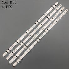 חדש ערכת 1020mm LED רצועת עבור LG 49UV340C 49UJ6565 49UJ670V V17 49 R1 L1 ART3 2862 2863 6916L 2862A 6916L 2863A חלקי טלוויזיה