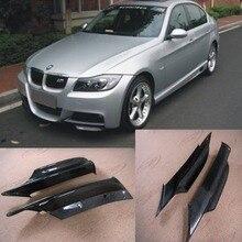 E90 M טק סיבי פחמן מול גוף ערכת ספליטר סינרי Cupwing Fit עבור BMW 3 סדרת E90 M  ספורט 2005 2008