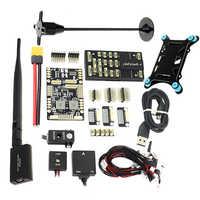Pixhawk 4 PX4 módulo de Control de vuelo M8N GPS y tablero de administración de energía PM PPM I2C RGB 433/915 Mhz kit combinado de telemetría 500/1000MW