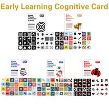 Bebê estimulação visual treinamento educação precoce cartão cor forma animal brinquedo cognitivo preto e branco cartão do bebê montessori brinquedo