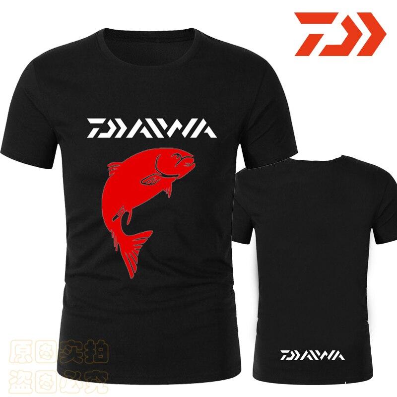 2020 Man Fishing Jersey Shirt Men Outdoor Sports Breathable Fishing Shirt Hiking Camping Quick Dry Summer Daiwa Fishing Clothing