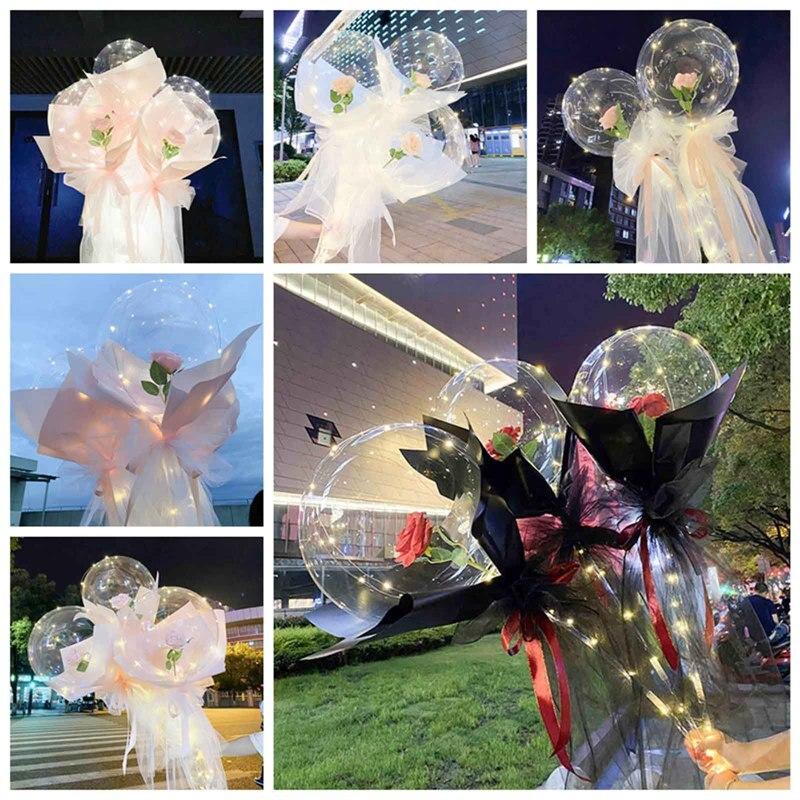 Rose Flower Balloons