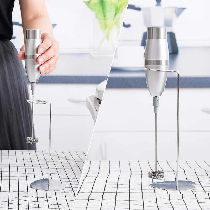 Elektryczny mleko Blister narzędzia z wspornik ze stali nierdzewnej mini mieszania pompa do mleka wielofunkcyjny trzepaczka do jajek do kuchni