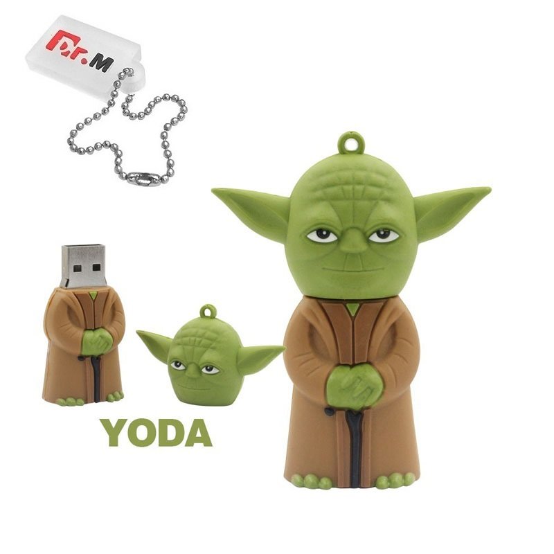 Gift+ Star Wars USB Flash Pen Drive 64GB 32GB R2D2 Pen Drive 128GB Darth Vader Pendrive 16GB 8GB 4GB Cle USB Memory Stick