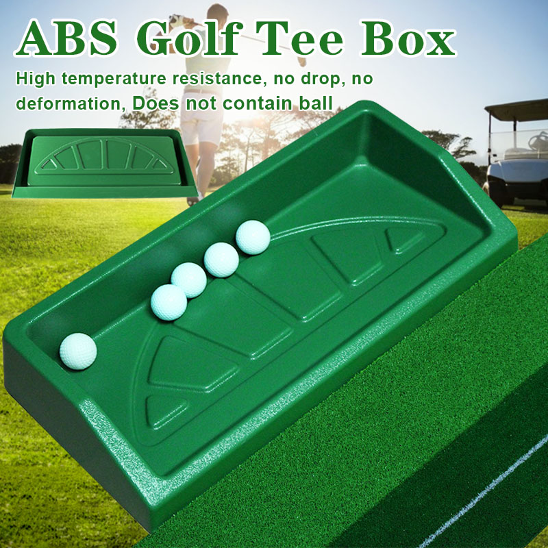 Golfs Tee Box ABS Golfs Driving Range Equipment Driving Range Supplies Accessories WHShopping