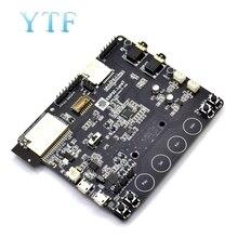 ESP32 LyraT para botões de ferramentas de desenvolvimento de ic de áudio, display tft e câmera suportados