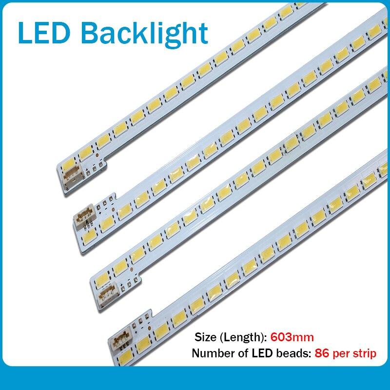 FOR Hisense LED55K510G3D Article Lamp LJ64-03353A 2011SGS55-5630-86-H1-REV1.0 1piece=86LED 603MM