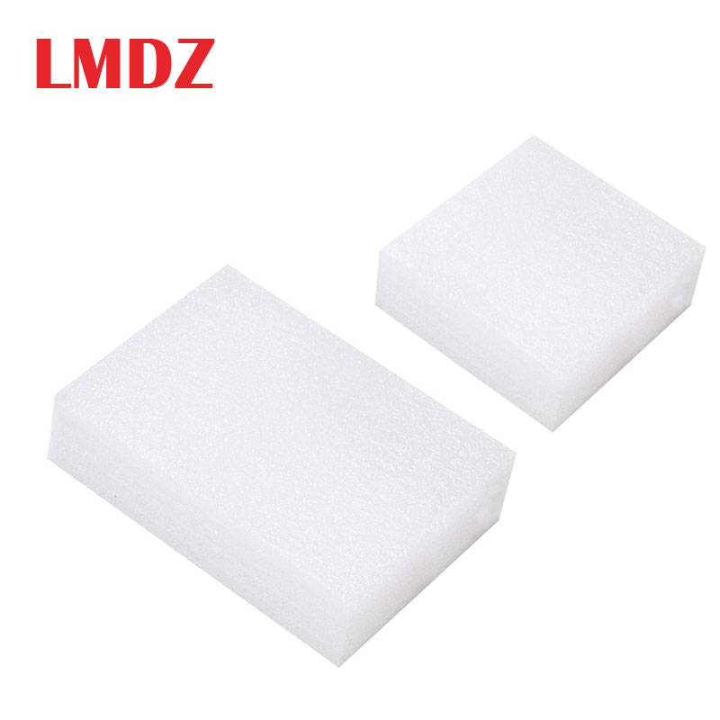LMDZ 1Pcs 5 Size Wool Felt DIY Workplace Mat White Foam Needle Felting Poked Pad Sewing Accessories Tools Felting Craft Handmade