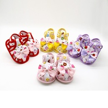 Summer Toddlers Baby Cute Bow Soft Sole Shoes Kids