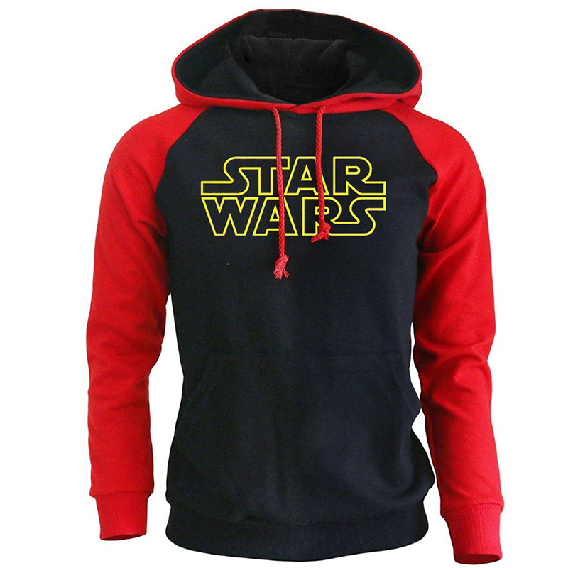 Spring Autumn Hoodies For Men 2018 New Casual Long Sleeve Rgalan Sweatshirt STAR WARS Harajuku Pullovers Hoody Kpop Sweatshirts