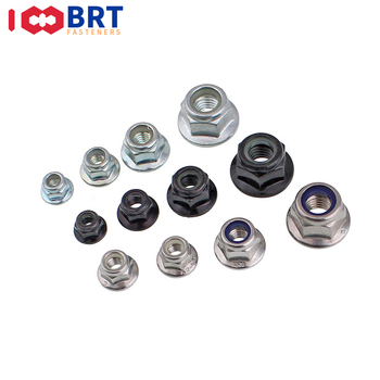 2/10pcs M3 M4 M5 M6 M8 M10 M12 Black Carbon 316 304Stainless Steel Hex Flange Nylon Insert Lock Nut Self-locking Nylock Locknut 50pcs din985 m2 m2 5 m3 m4 m5 m6 m8 304 stainless steel nylon self locking hex nuts locknut slip lock nut