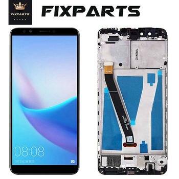 Oryginalny wyświetlacz LCD dla Huawei Y9 2018 wyświetlacz LCD z ekranem dotykowym Digitizer dla Huawei Y9 2018 wyświetlacz z ramą FLA-L22 LX2 LX3 FLA-LX1