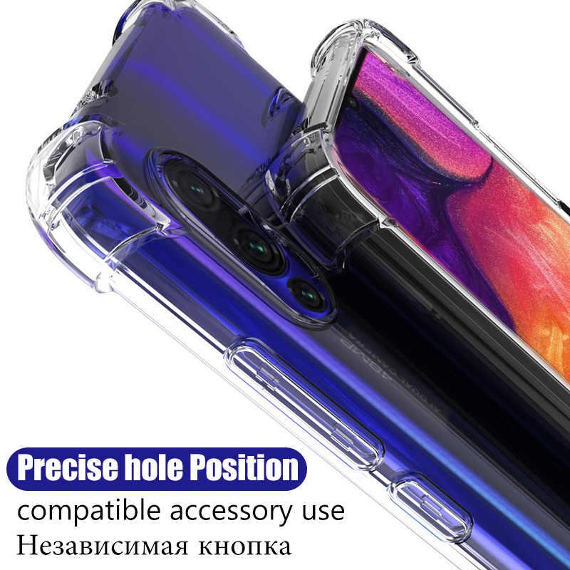 Rõ Ràng Ốp Lưng Chống Sốc Cho Samsung Galaxy S10 Lite S10e S20 Cực S8 S9 Plus Note 10 A30s A51 A71 A40 a20 A10 M31 M40 Lưng