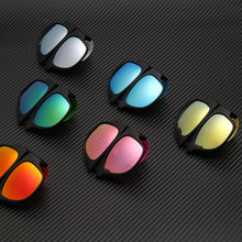 Patente de alta qualidade polarizada tapa no pulso dobrável óculos de sol feminino promoção facy dobrável óculos de sol