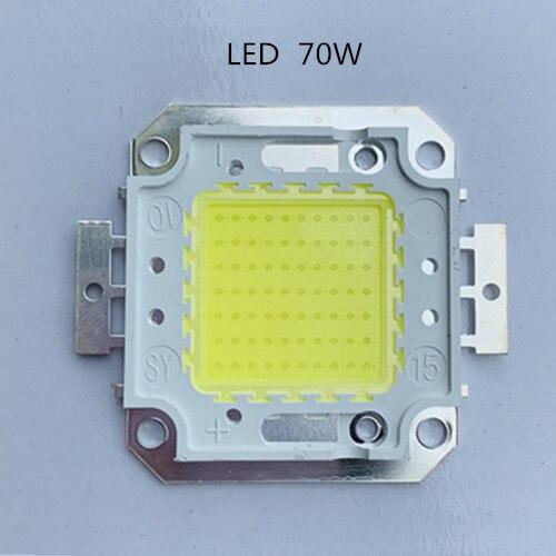 Светодиодный чип 70 Вт, чистый белый холодный 6500k 70 Вт 24х48 светодиодный чип высокой мощности, светодиодный светильник 1750MA 7200lm 32-34 в для 70 Вт, св...