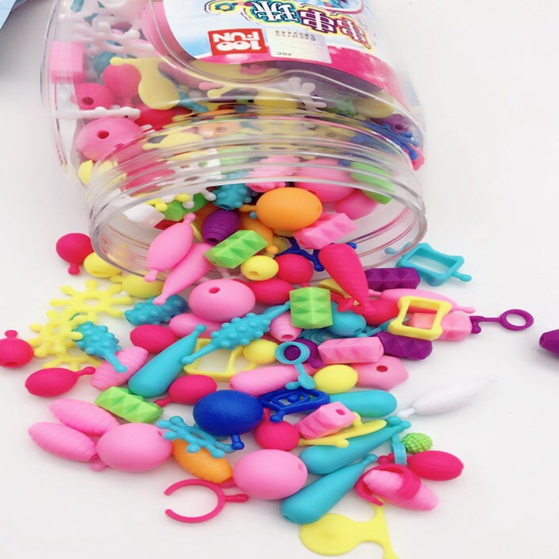 Disney Children Princess Chuan Chuan Zhu 300 Stars Loaded GIRL'S DIY Toy Bracelet Cordless Birthday Gift