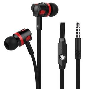 Image 2 - Langsdom jm26 in ear fone de ouvido 3.5mm estéreo gaming headset com microfone fones de ouvido de alta fidelidade para o telefone mp3 fone de ouvido