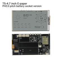 LILYGO T5 4.7 inch E paper ESP32 V3 Version 16MB FLASH 8MB PSRAM WIFI/Bluetooth for arduino