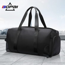 BOPAI Travel Handbag Large Capacity Men Duffel Hand Luggage Multifunction Weekend Bag Male Sports Short Trip Waterproof Suitcase