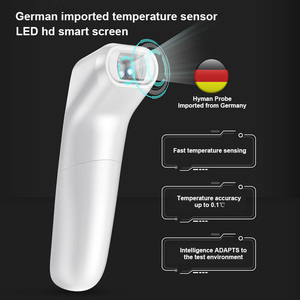 Image 5 - LIERDOCT Baby Forehead Thermometer Infrared Digital LED Body Temperature Meter Non contact Thermometer Gun Children Adult Fever