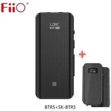 FiiO BTR5 ile SK btr5 taşınabilir Bluetooth amplifikatör CSR8675 AptX LDAC USB DAC AAC iPhone Android 3.5mm 2.5mm HiFi ses dekoder