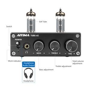 Image 3 - AIYIMA 50W * 2 TPA3116D2 Bluetooth 4.2 Vacuüm 6J4 Buis HiFi Digitale Versterkers Stereo Power Sound Versterker Met Treble bass Tone