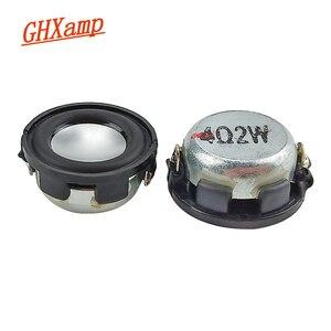 Image 1 - GHXAMP 1 inç tam aralıklı hoparlör sütun 4ohm 2w Bluetooth hoparlör DIY Mini Tweeter orta bas manyetik alt hoparlör 2 adet