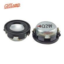Ghxamp mini caixa de som magnética, 1 polegada, alcance total, 4ohm, 2w, bluetooth, faça você mesmo, grave médio 2 peças